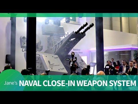 Aselsan Reveals Gökdeniz Naval Close-in Weapon System