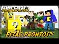 Minecraft: BOB ESPONJA DA SORTE - ESTÃO PRONTOS?! #1 (Lucky Block Mod)