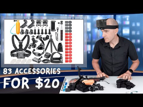 83 Piece GoPro Accessory Kit Review: Only $20! Good Deal Or Cheap Junk?