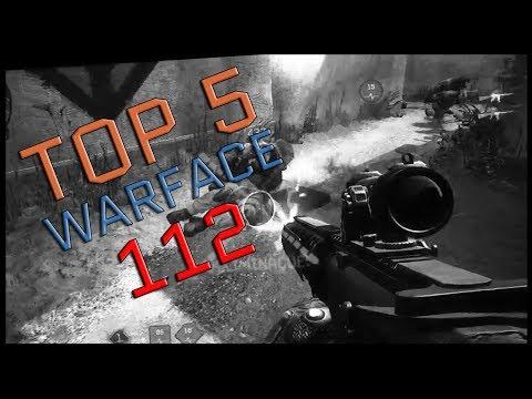 Warface Top 5 #112 - M16A3 Custom/ Fabarm P.S.S.10 / AX308/ Fabarm STF 12/ Highlights