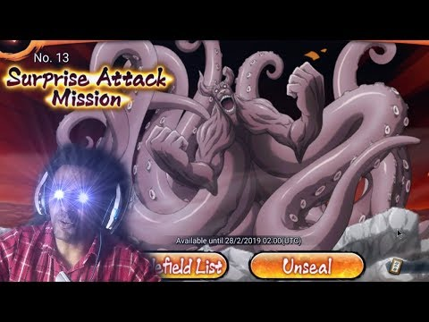 Naruto X Boruto Ninja Voltage: Surprise attack mission!!! COOP INCRÍVEL!!! Attack do 8 Caudas!!! - Omega Play