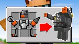 Minecraft: COMO FAZER UM ROBÔ NO MINECRAFT !! ‹ AUTHENTIC ›