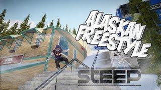 | Alaskan Freestyle | a steep footage.