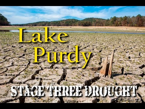 Lake Purdy - Stage Three Drought