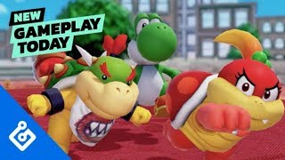 New Gameplay Today – Super Mario Party's Minigames