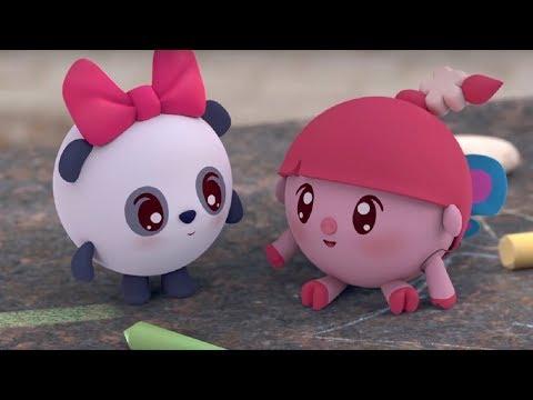 Малышарики - Бабочки 🦋- серия 112 - обучающие мультфильмы для малышей 0-4 - подвижные игры