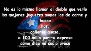 Letra Lyrics @ Daddy Yankee Ft Alexis & Fido - Rescate
