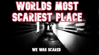 The Worlds most scariest HAUNTED PLACE!!!! This is no JOKE. WE WAS SCARED!!