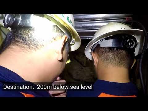 Philsaga Mining Underground Visit