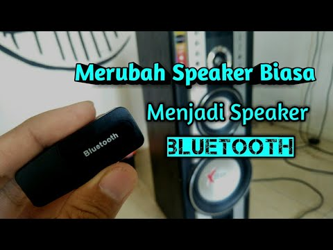 Cara Mudah Pasang Bluetooth Ke Speaker Aktif Youtube