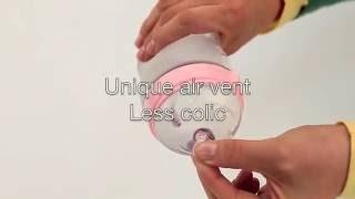 Giới thiệu bình sữa Comotomo siêu mềm - Ú Òa vn