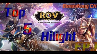 ROV TOP 5 HILIGHT EP.1 BY.GenosKung CH