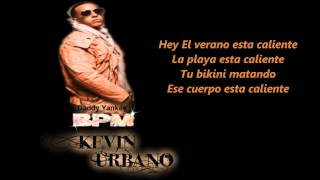 Daddy Yankee - BPM (Letra official ) 2012
