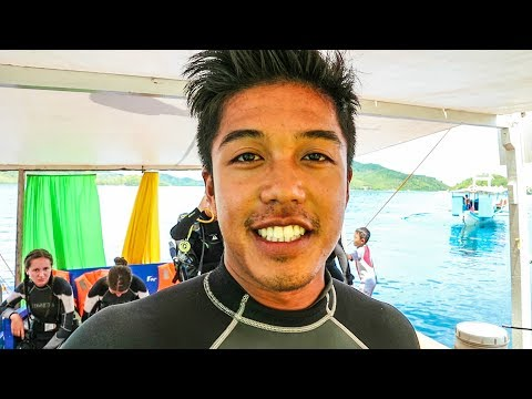 156 | DIVING THE JAPANESE SHIPWRECKS OF WWII!! - DIVING IN CORON!!!! (Southeast Asia Travel VLOG)