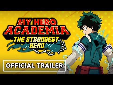 My Hero Academia: The Strongest Hero - Official Trailer