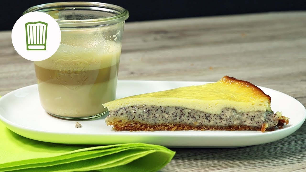 Mohnkuchen Mit Vanillepudding Entdeckt Auf Pinterest Chefkoch