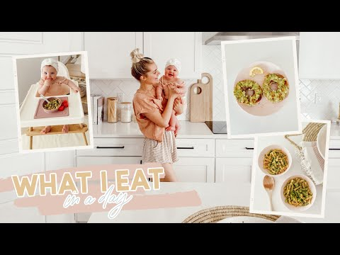 Vegan What I Eat in a Day! Mom & Baby Ep. 2   Aspyn Ovard