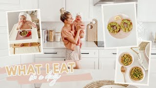Vegan What I Eat in a Day! Mom & Baby Ep. 2 | Aspyn Ovard