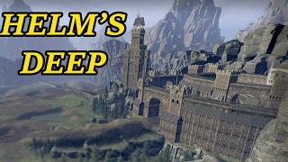 The Siege Of Helm's Deep - Battle For The Hornburg | Warhammer Total War Gameplay