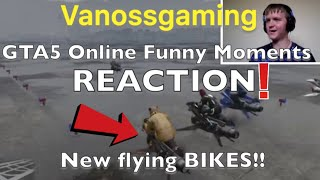 GTA5 Online Funny Moments - Opressor Mk2 Elimination and Robo Horse Racing! Reaction