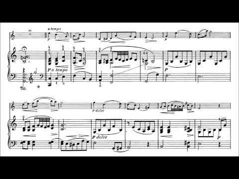 Sartorio, Arnoldo Violin Concerto in F major for violin + piano
