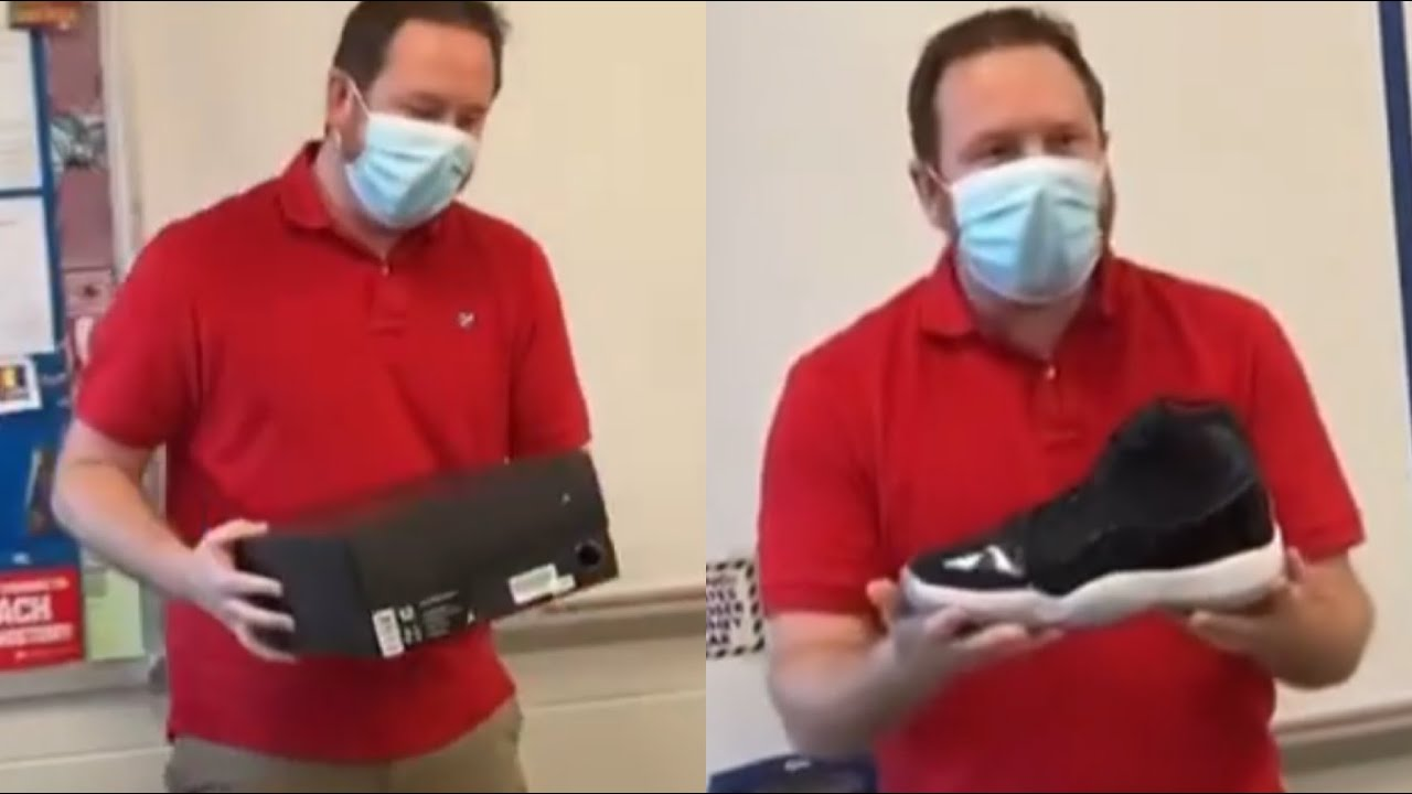 Students Gather $400 to Buy Teacher His First Pair of Jordans
