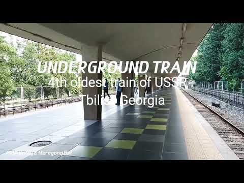 Underground train, Tbilisi Georgia (Datu Ontay)