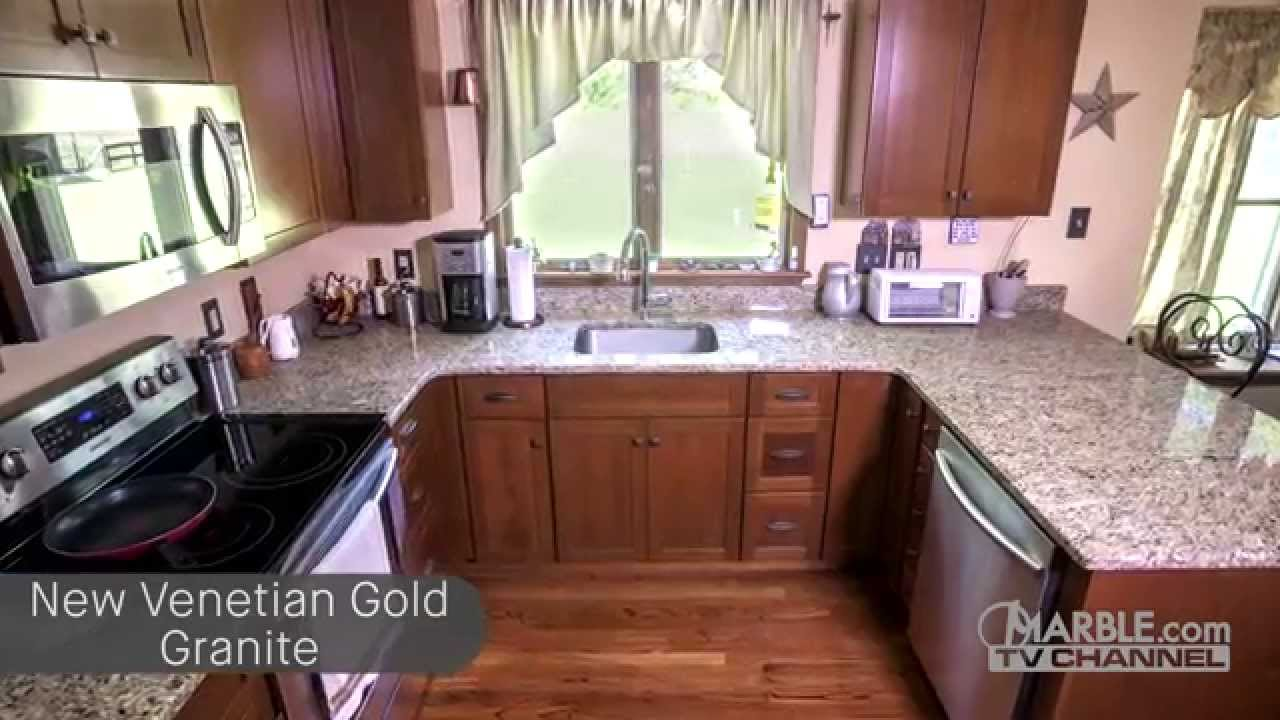 - New Venetian Gold Countertops - YouTube