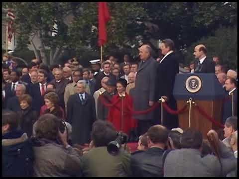President Reagan's Remarks at Arrival Ceremony for Mikhail Gorbachev on December 8, 1987