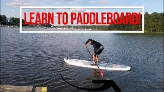 Paddle Board Paddling Strokes Draw Sweeping Stroke SUP