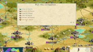 Civilization III: Play the World Challenge Video: Play my game!