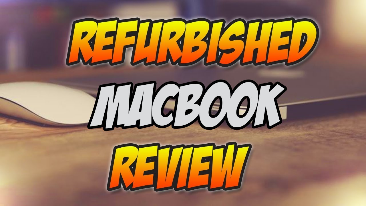 Refurbished Macbook Air From Amazon Unboxing / Review!
