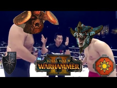CHAOS COMES   Chaos Vs Lizardmen - Total War Warhammer 2