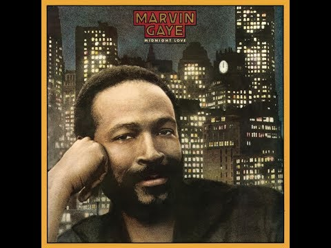 Marvin Gaye - Midnight Love [FULL ALBUM LP] 1982