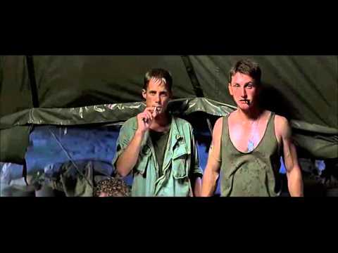 """Casualties of War (1989) Scene: """"You don't have to try and kill me."""""""