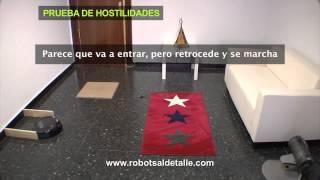 тест робота пылесоса deebot d76 на преодоление препятствий
