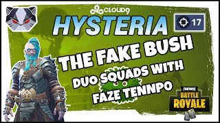 Hysteria | Fortnite Battle Royale - Season 5 - Duo Squads with FaZe Tennp0
