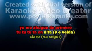 I Wanna Get High  Mozart la Para  Karaoke Completo Original Full