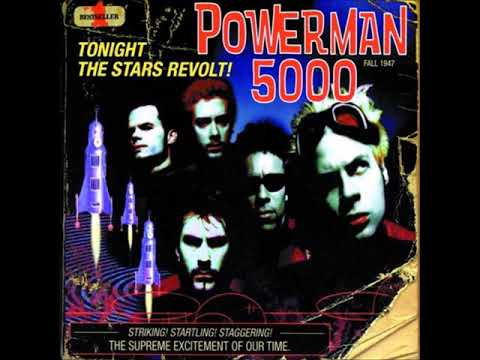 Powerman 5000 - Supernova Goes Pop (Audio)