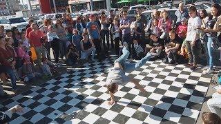 Танцевальный батл в Барнауле часть 2 брейк данс