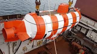 Робота рятувальників Тихоокеанського флоту під водою на батискафі АС-30