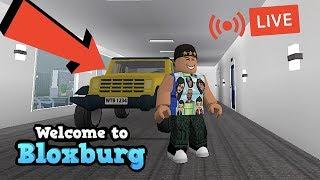BLOXBURG UPDATE! I GOT THE NEW JEEP   ROBLOX   LIVE   FAMBAM GAMING
