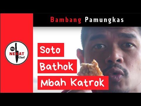 bambang-pamungkas-wisata-kuliner:-soto-bathok-mbah-katro,-sleman.