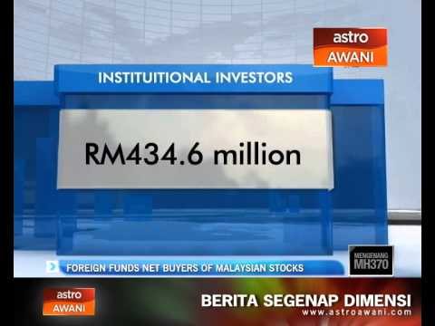 Foreign funds net buyers of Malaysian stocks