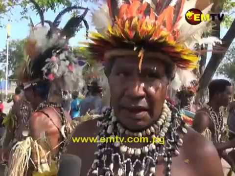 Papua New Guineans Embrace their Cultural Heritage at Provincial Day