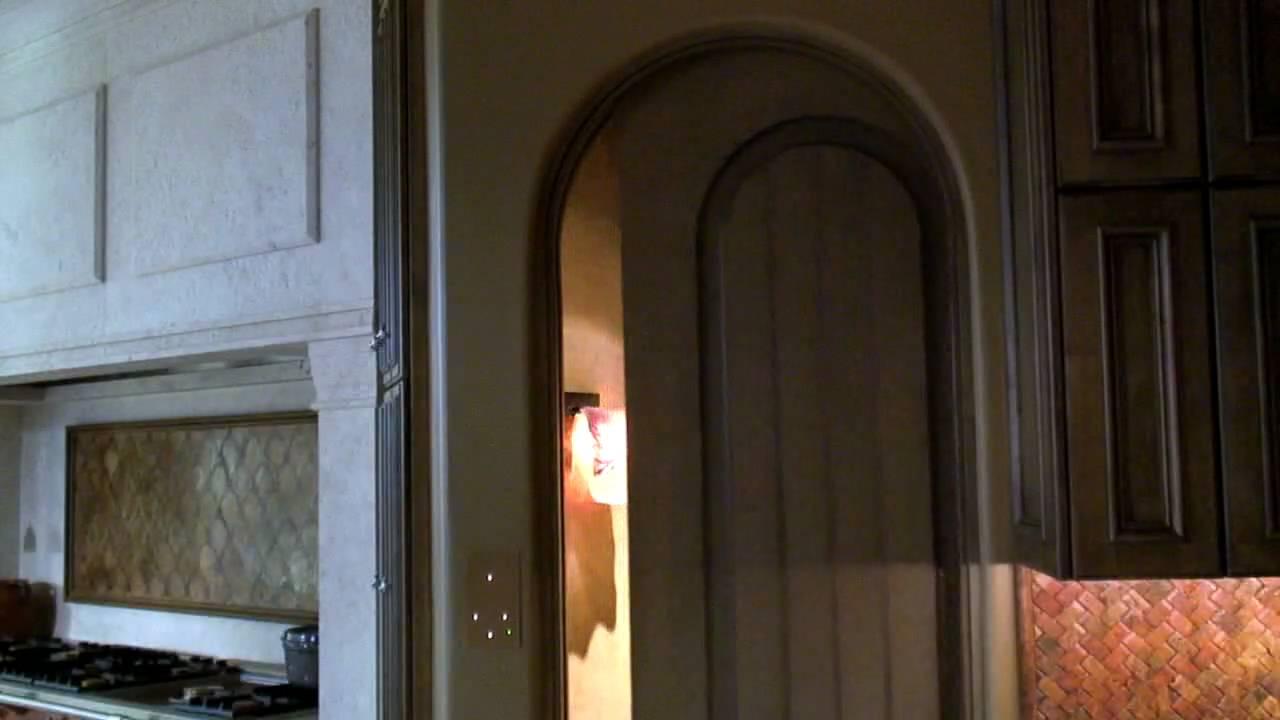 Custom Motorized Pocket Doors Youtube