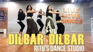 DILBAR DILBAR/NORA FATEHI/ NEHA KAKKAR/ BOLLYWOOD STYLE/ SATYAMEV JAYATE/ RITU'S DANCE STUDIO.