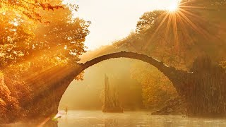 """Peaceful Relaxing Instrumental Music, Meditation Soft Music """"Magical Autumn"""" by Tim Janis"""