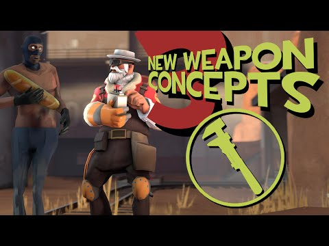 Three New Engineer Weapon Concepts