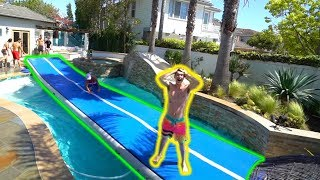 Flipping On Water Challenge!! *Is It Possible?*
